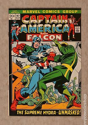 Captain America (1968 1st Series) #147 FN- 5.5