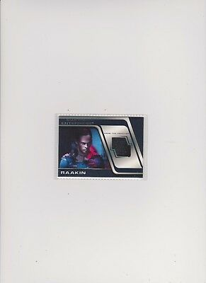Enterprise Season 4 Costume Card C15 Raakin