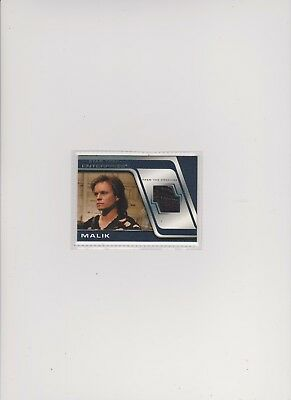 Enterprise Season 4 Costume Card C13 Malik