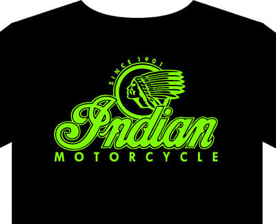 Indian Motorcycle T Shirt Mens S-5XL biker classic vintage USA