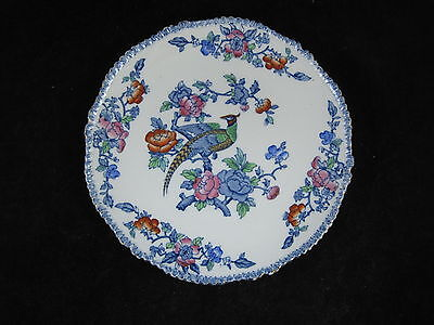 Vintage Wood & Sons Mayfair Plate Exotic Bird Pheasant