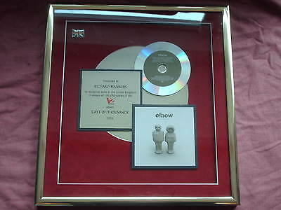 Elbow-Cast Of Thousands Official Gold Presentation Award