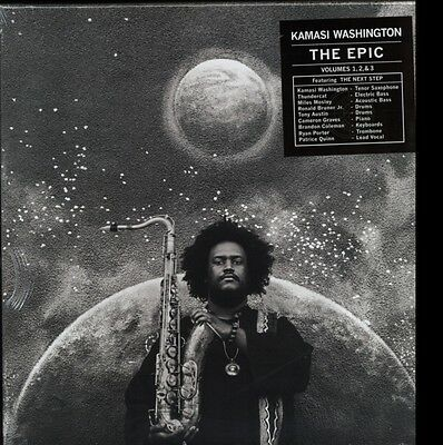 The Epic, Kamasi Washington, Vinyl, 5054429002300
