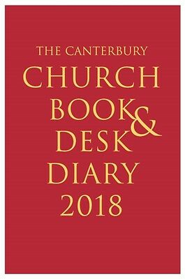 Canterbury Church Book & Desk Diary 2018, 9781848259386