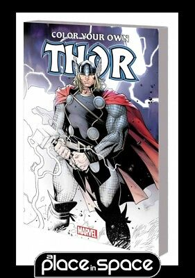Color Your Own Thor - Softcover