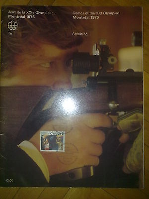 Programme Olympic Games Montreal 1976 SHOOTING