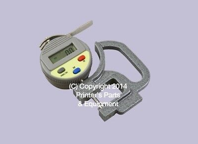 Digital Thickness Gauge 0.01 mm /.0005 inches