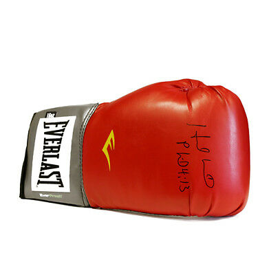 Evander Holyfield Signed Boxing Glove - Everlast Autograph