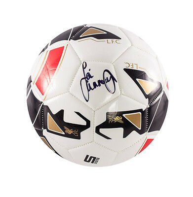 Jamie Carragher Signed Football - Liverpool Autograph