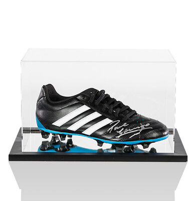 Paul Gascoigne Signed Football Boot Adidas In Acrylic Display Case Autograph 51bd75f19