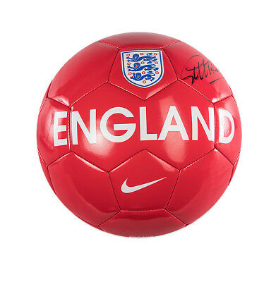 Sir Geoff Hurst Signed Football - England Autograph