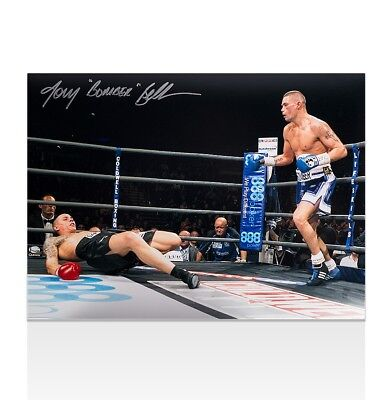 Tony Bellew Signed Photo - Bomber Autograph