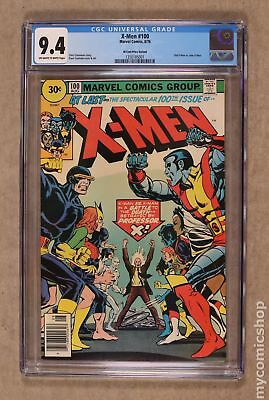 Uncanny X-Men (1963 1st Series) 30 Cent Variant #100 CGC 9.4 1350185001