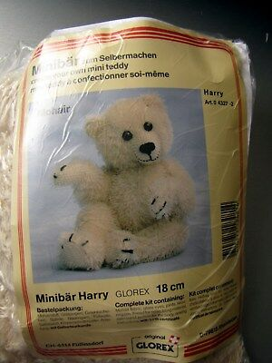Neuf Kit Ours Nounours A Coudre Teddy Bear 18 Cm, Harry. Glorex