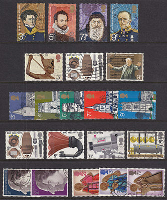 1972 Complete Commemorative Year Set ( 6 Sets ) Used