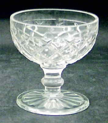 Anchor Hocking WATERFORD CLEAR Champagne Sherbet Glass 6713