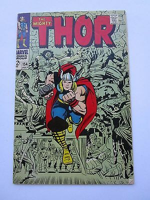 1968 The Mighty Thor # 154, Very Fine+ Condition, 1St Appearance Of Mangog