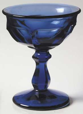 Imperial Glass OLD WILLIAMSBURG DEEP BLUE ULTRA Champagne Sherbet Glass 237487