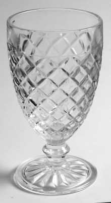 Anchor Hocking WATERFORD CLEAR Water Goblet S6607798G2