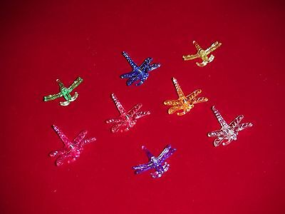 X64 dragonfly orchid nursery plant clips decorative medium supports 8 colors