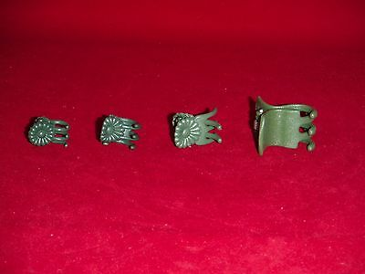 X70 mixed heavy duty orchid nursery plant clips green small large medium sturdy