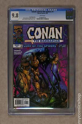 Conan Lord of the Spiders (1998) #1 CGC 9.8 0708925014