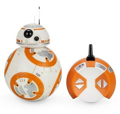 Disney Star Wars The Force Awakens Remote Control Deluxe Bb-8 Toy The Last Jedi