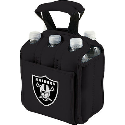 Picnic Time Oakland Raiders Six Pack - Oakland Raiders Outdoor Accessorie NEW