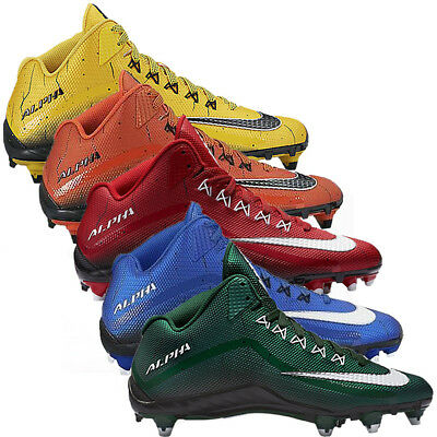 New Mens Nike Alpha Pro 2 3/4 Football Cleats - Choose Your Size and Color