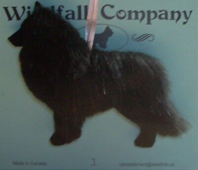 Belgian Sheepdog Dog Plush Christmas Canine Ornament # 1 by WC