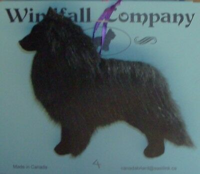 Belgian Sheepdog Dog Plush Christmas Canine Ornament # 4 by WC