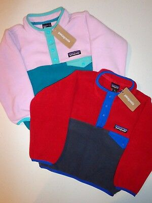 PATAGONIA Baby Lightweight Synchilla Snap-T Pullover - 61096 - size 2T