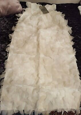 MAMAS AND PAPAS Baby Girl Long Silk Christening Gown Dress 0-3 Month