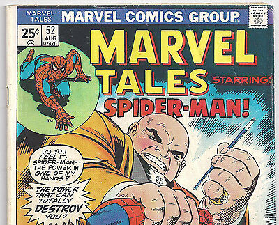 The Amazing Spider-Man #69 Reprint in Marvel Tales #52 from Aug.1974 in VG-