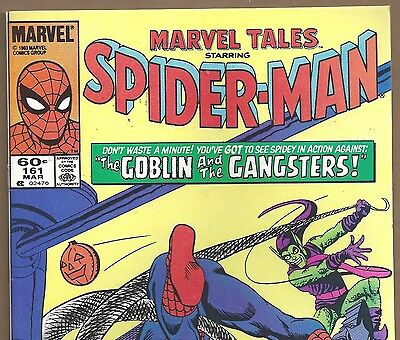 The AMAZING SPIDER-MAN #23 Reprint in Marvel Tales #161 from Mar. 1984 in VF-
