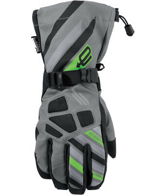 Arctiva Ravine S7 Mens Snow Gloves Gray/Green