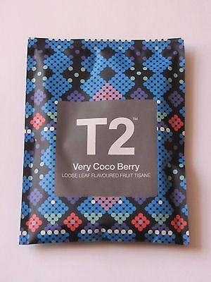 T2 - VERY COCO BERRY - Loose Leaf Flavoured Fruit Tisane Tea Limited Edition NEW