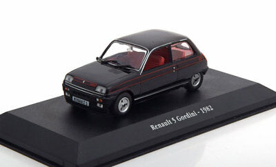 1:43 Atlas Renault 5 Gordini 1982 black