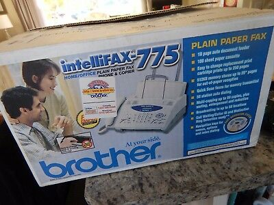 New brother intellifax-775  Plain Paper Fax Phone & Copier for Home/Office