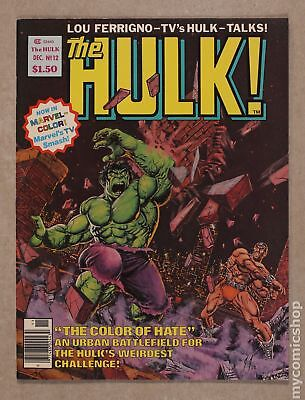 Rampaging Hulk (1977 Magazine) #12 VF 8.0