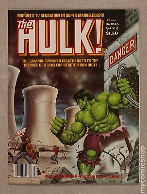 Rampaging Hulk (1977 Magazine) #20 VF 8.0