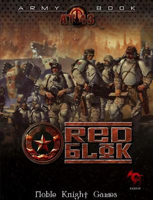 Rackham AT-43 Red Blok Army Book SC EX