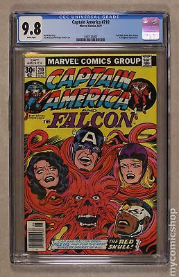 Captain America (1968 1st Series) #210 CGC 9.8 1497135007