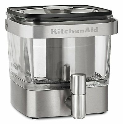 KitchenAid KCM4212SX Cold Brew Coffee Maker Dispenser Brushed Stainless Steel