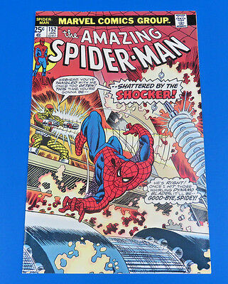 The Amazing Spider-Man #152 ~ The Shocker ~ 1976 Marvel Comic ~ Vf+