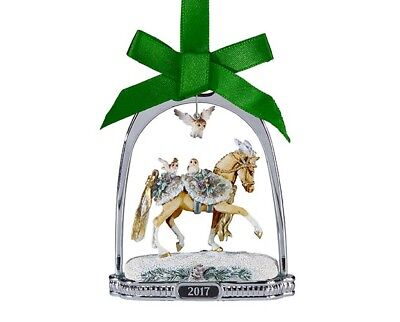 Breyer Christmas 2017 Stirrup Ornament Winter Wonderland NIB exceptional<><
