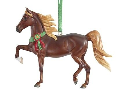 Breyer Christmas 2017 Beautiful Breeds Morgan Ornament NIB exceptional<><