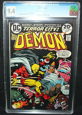 Demon #12 - Jack Kirby Story and Art - CGC Grade 9.4 - 1973