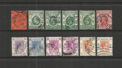 China 中國  Hong Kong ~ 1899-1951 Definitives (Postally Used)
