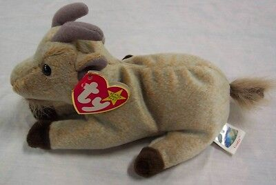 b6e3b56d6bb Goatee the Goat - Ty Beanie Baby - MWMT - Fast Shipping •  2.69 ...